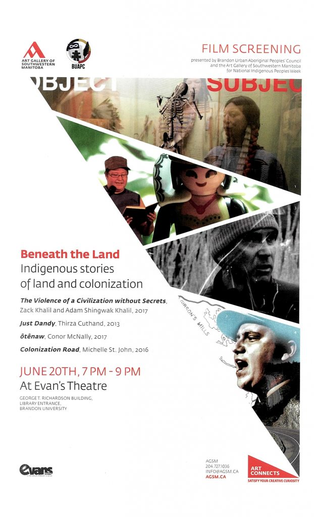 Beneath the Land: Indigenous stories of land and colonization